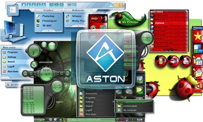 Aston 2.0.3 - украшение рабочего стола.